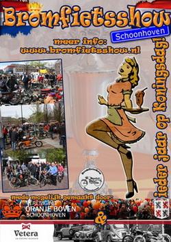 bromfietsshow Schoonhoven