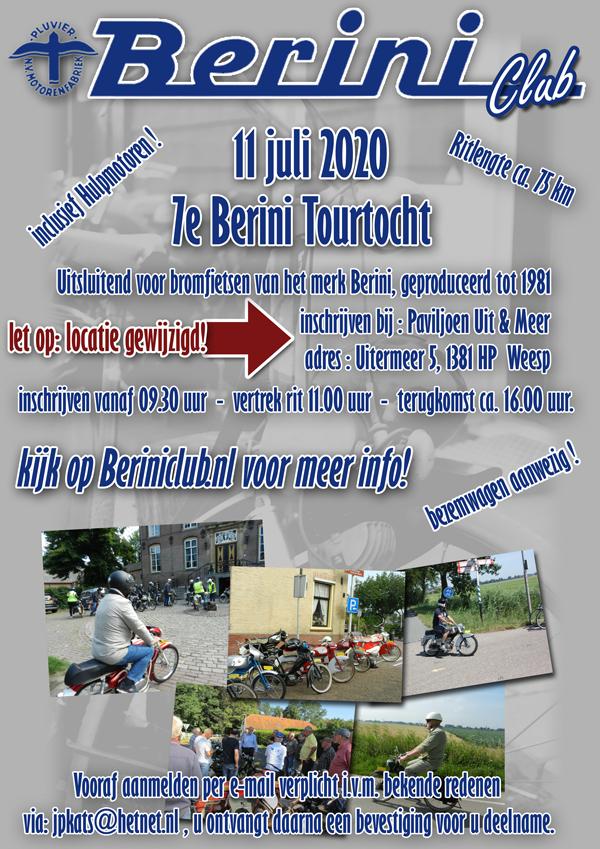 Zaterdag 11 juni – 7e Berini Tourrit te WEESP